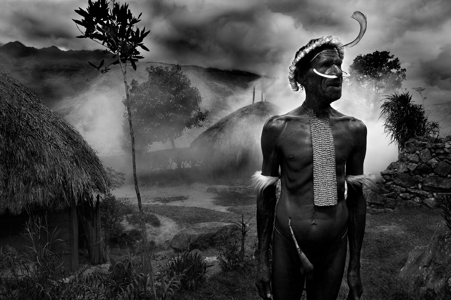 Baliem valley, island ofPapua - Vanishing Faces of the Dani Tribe