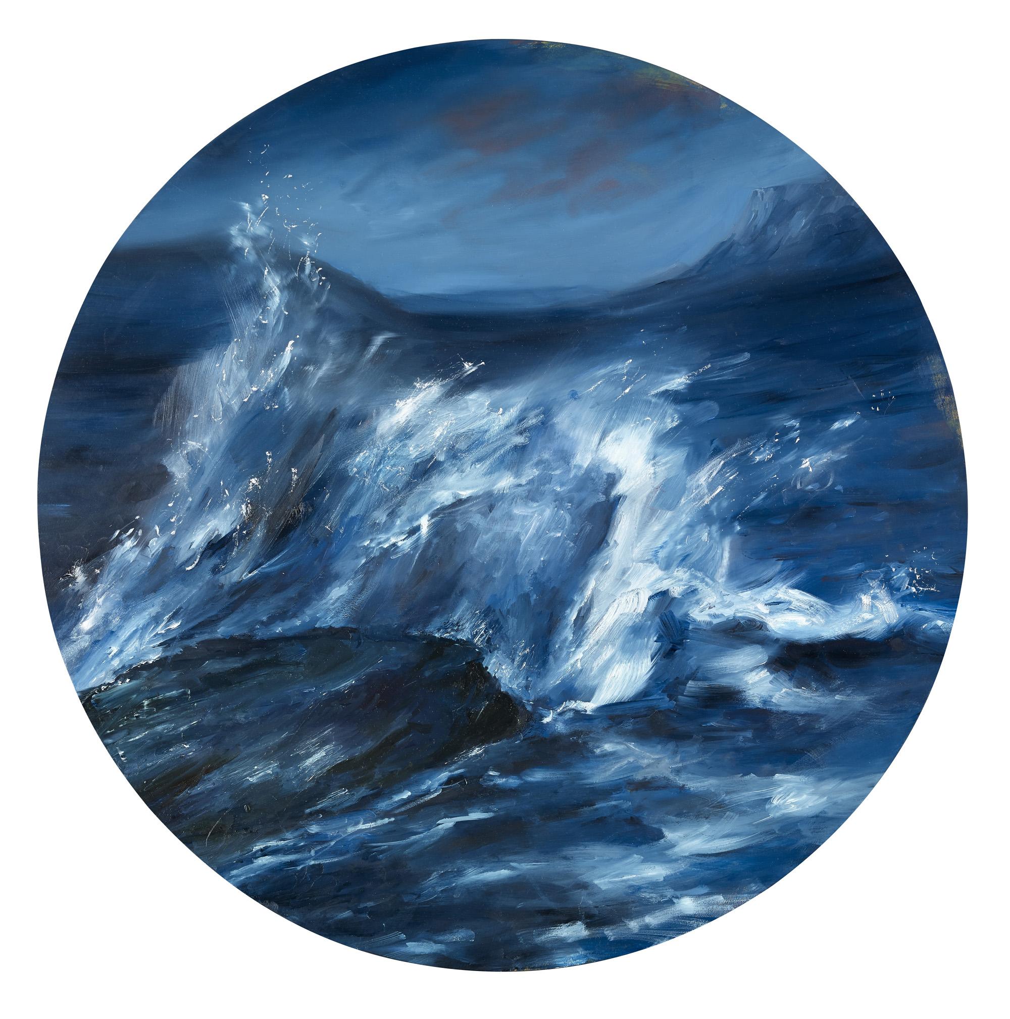 Tumultous Seas, #9, 2013 oil on panel 24 in.