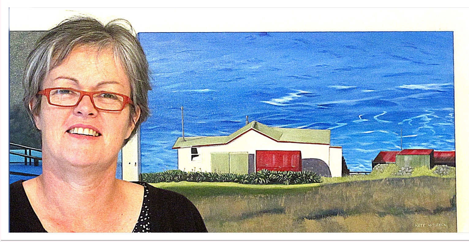 KATE McLAREN - New Zealand Landscape Artist