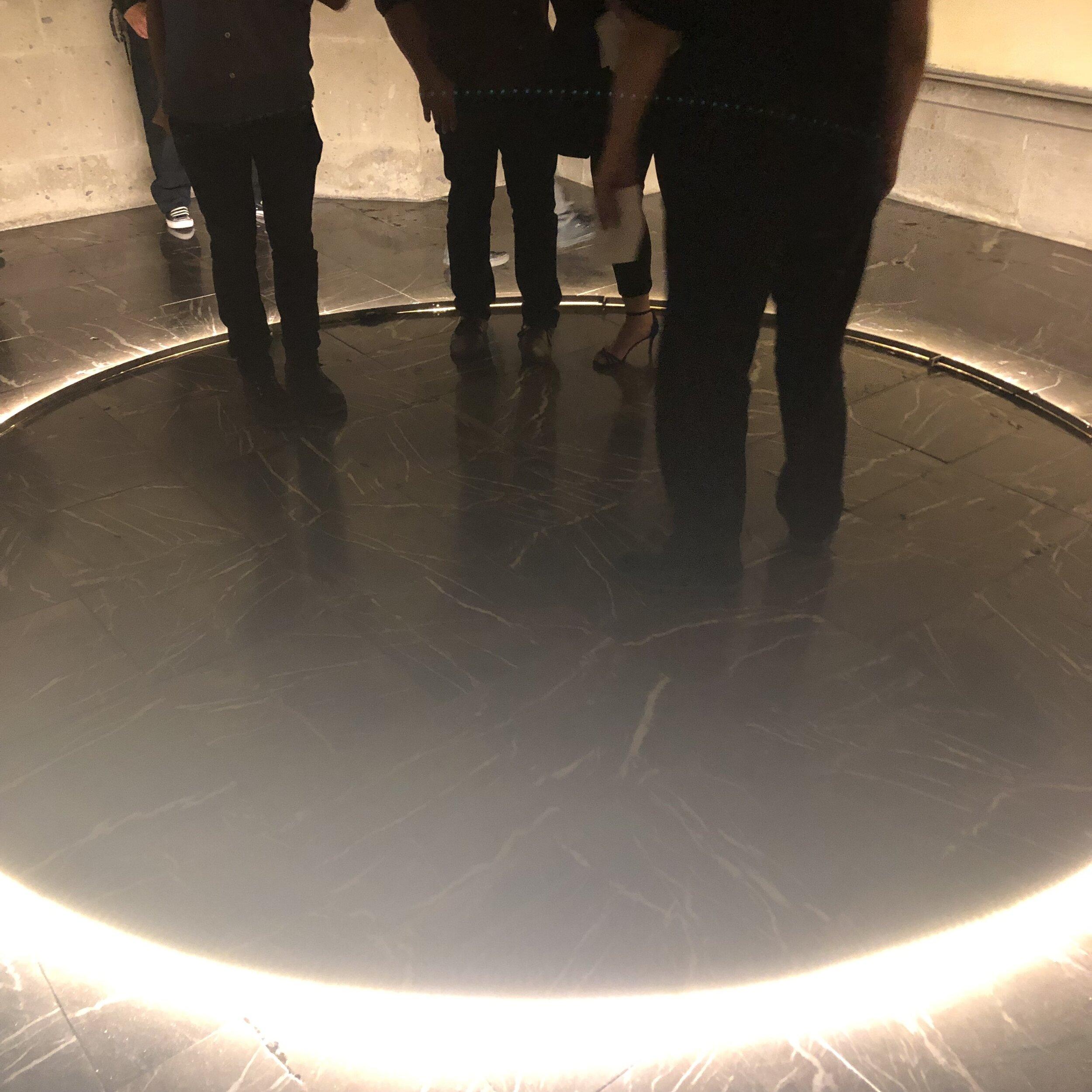 """- Omar Guerra, Caleum et Terram 2019, audio installation at """"Este es el Jardin del Eden"""", a group show curated by Emmanuel Albarrán, Purisima Arte Contemporaneo."""
