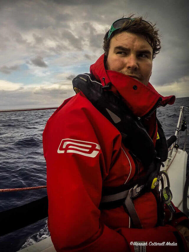 Oliver Cotterell - RYA Yachtmaster Instructor and circumnavigator.