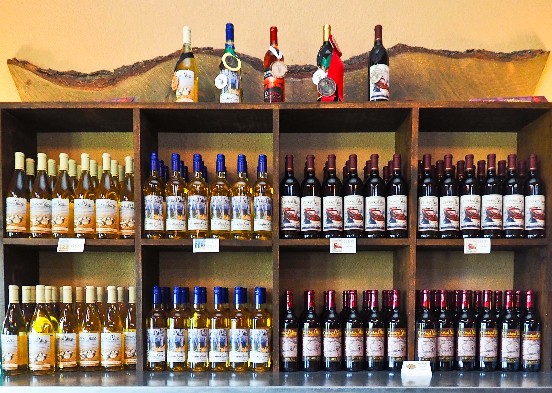 Wines - Our  wines run from bone dry reds & whites to semi-sweet and sweet.  Come in for a tasting and see the new standard in Michigan wines!