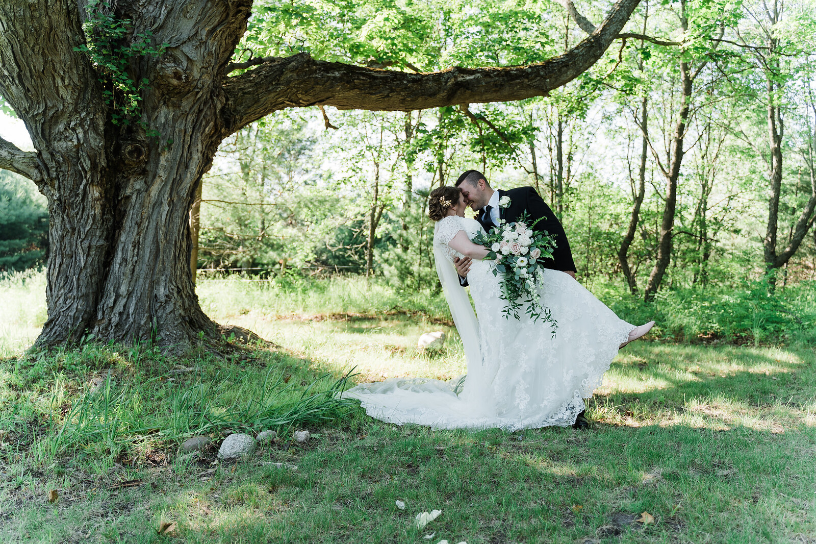 Weddings - Crooked Vine is the most majestic and secluded wedding destination in the Petoskey Wine Region.  Nestled in an heirloom apple orchard east of Alanson, Crooked Vine Vineyard is the perfect setting for weddings and special events.