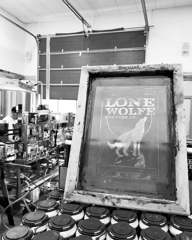 We canned some D'IPA with the fine folks at @lonewolfebrewing #craftbeers  #ipa #nhipa