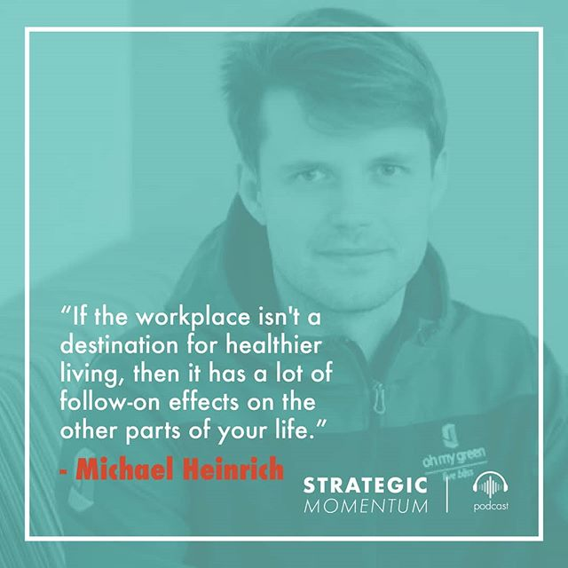 A health-focused workplace is best positioned to be a successful workplace.  Check out our latest podcast for insights into workplace wellness. Follow the link in our bio!  #health #workplacewellness #wellness #careeradvice #quotes #biztips #healthyliving #workhappy