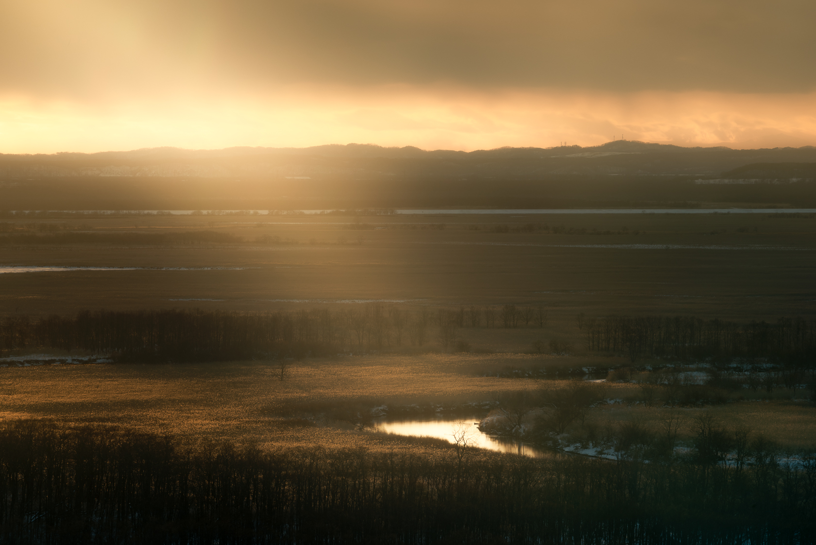 Sunset at Kushiro Marshland.jpg