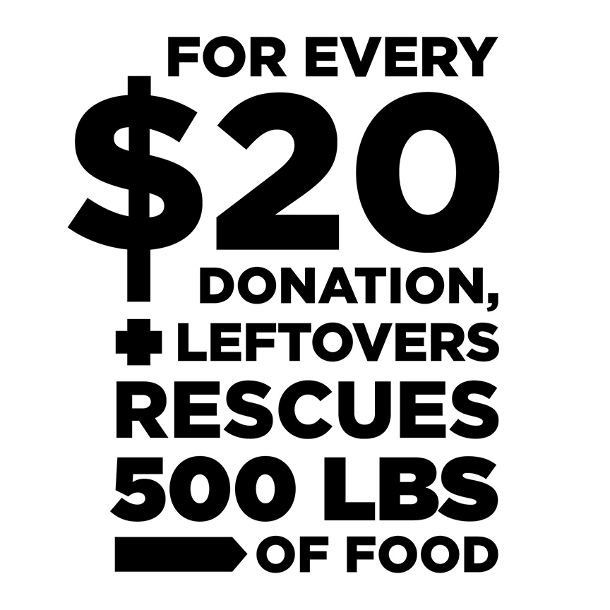 Help rescue food in Calgary - Please consider donating to this cause! Your dollars will help us rescue more food and help support our volunteers with their work. Any amount is appreciated, big or small, because we recognize the positive feelings behind every donation.Leftovers delivers perishable food to locations across Calgary to alleviate stress and fill the kitchens with fresh items. We are working on fixing a small portion of a very large problem.