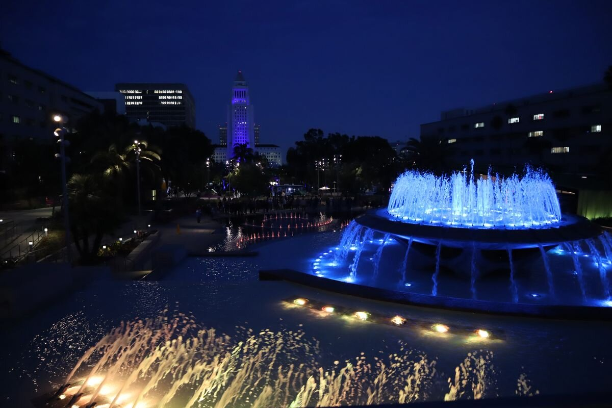 Projects We've Worked On: UCLA Shapiro Fountain
