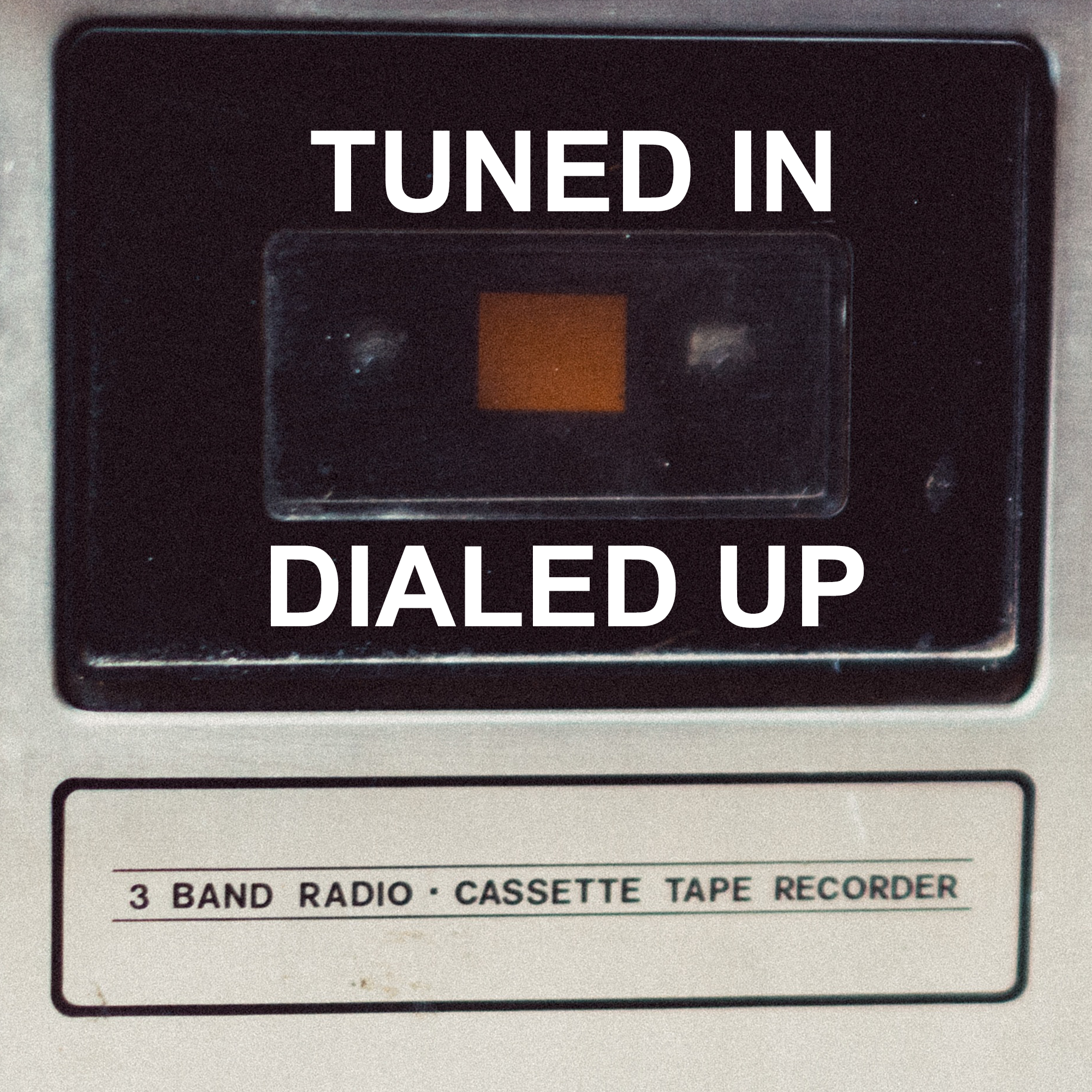 The tuned in dialled up cover art.
