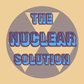 The Cover art for The Nuclear Solution.