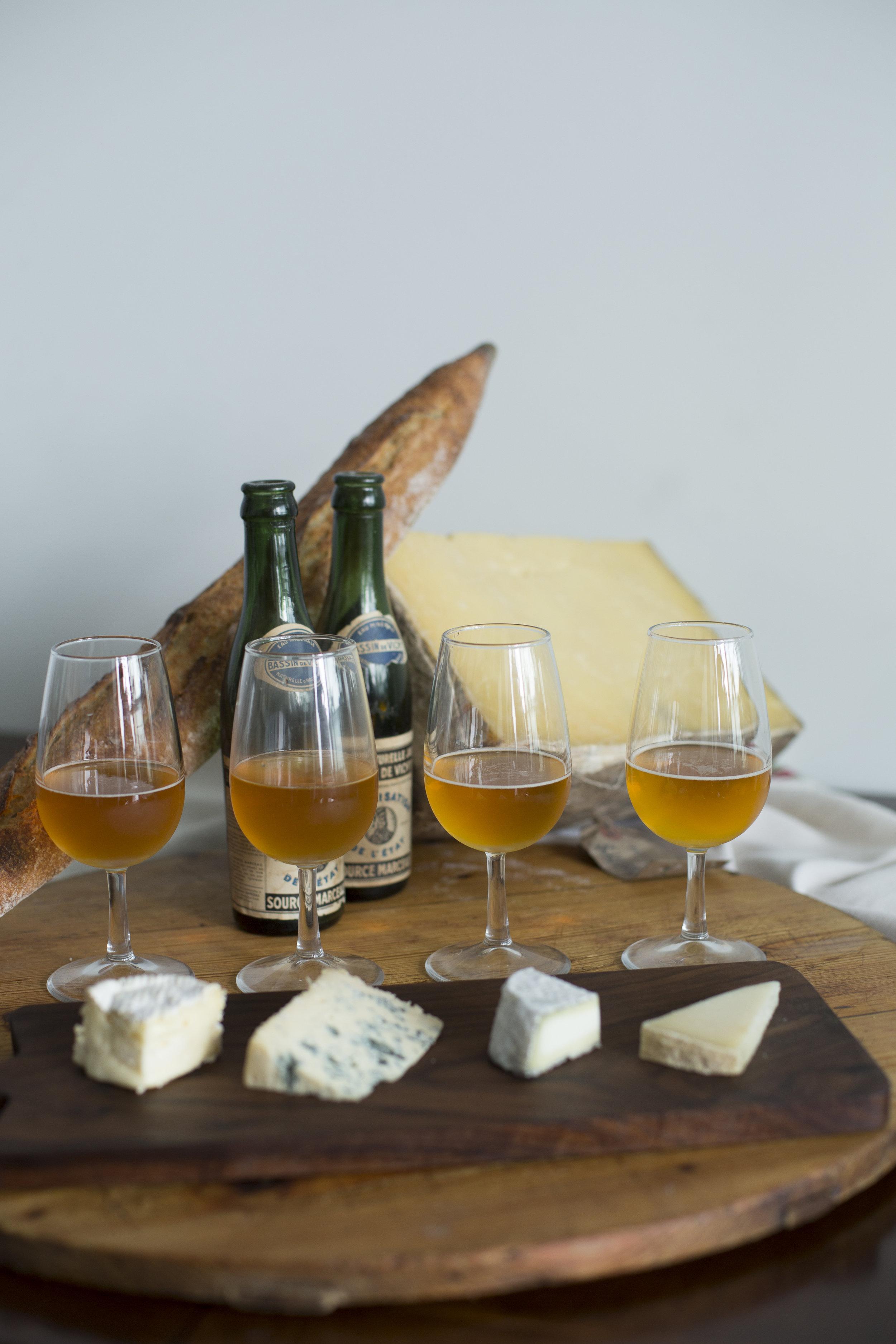 4 Cheese & Beer tasting
