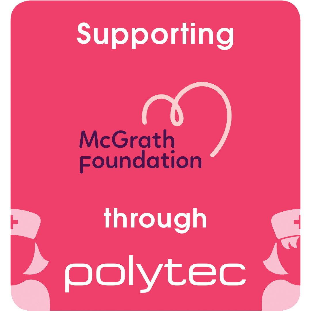 Goolwa Kitchens & Wardrobes supportthe McGrath Foundation through Polytec -
