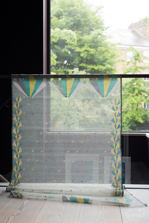 Bespoke Jamdani Window Panel