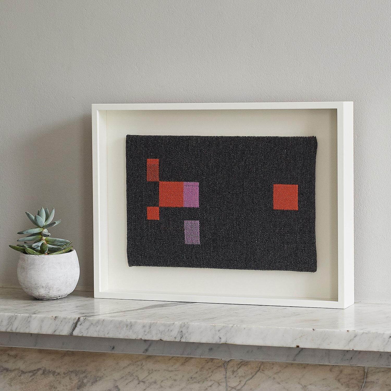 Falling Blocks Framed Artwork