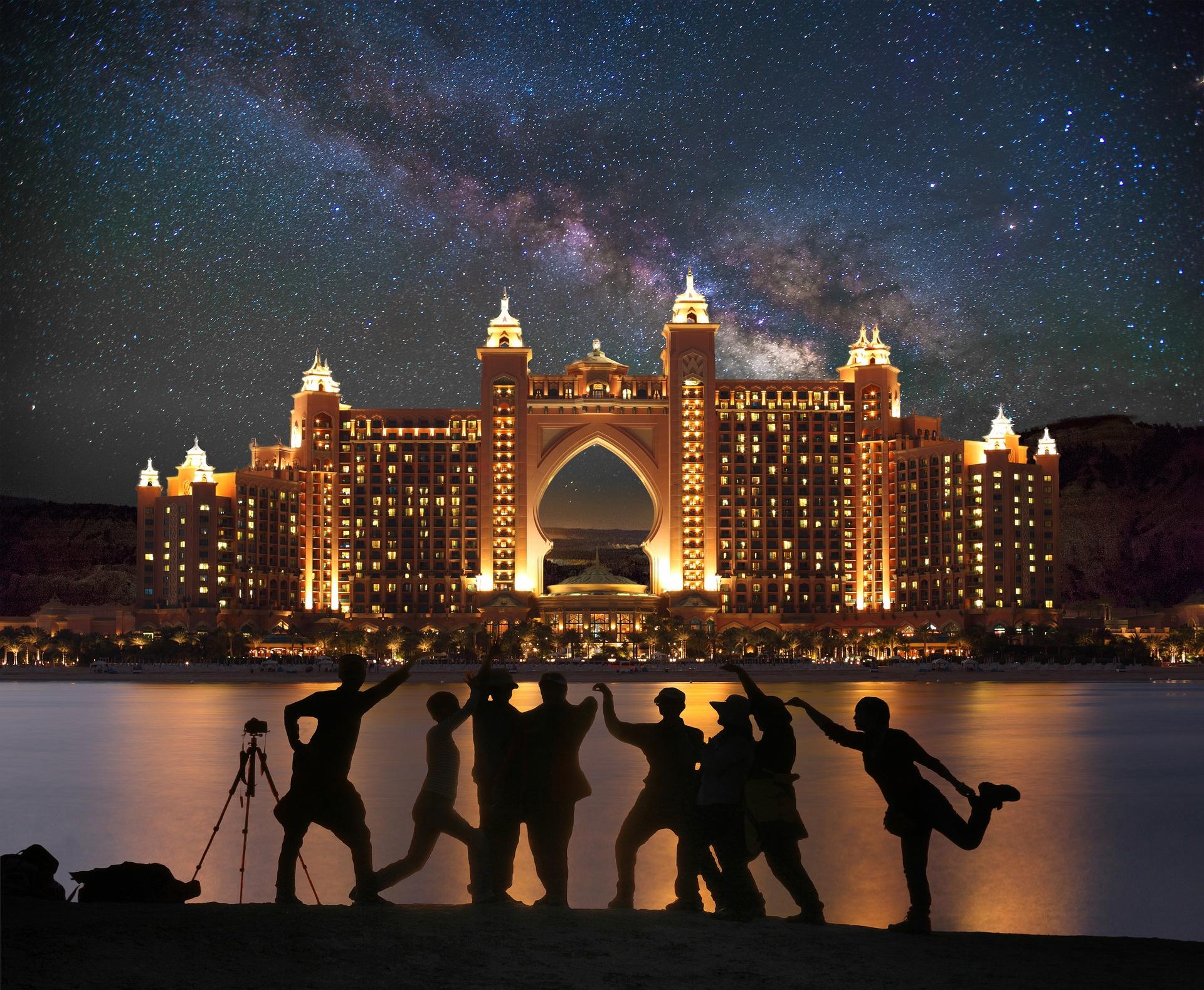 Isla de las palmeras de Dubai - Atlantis