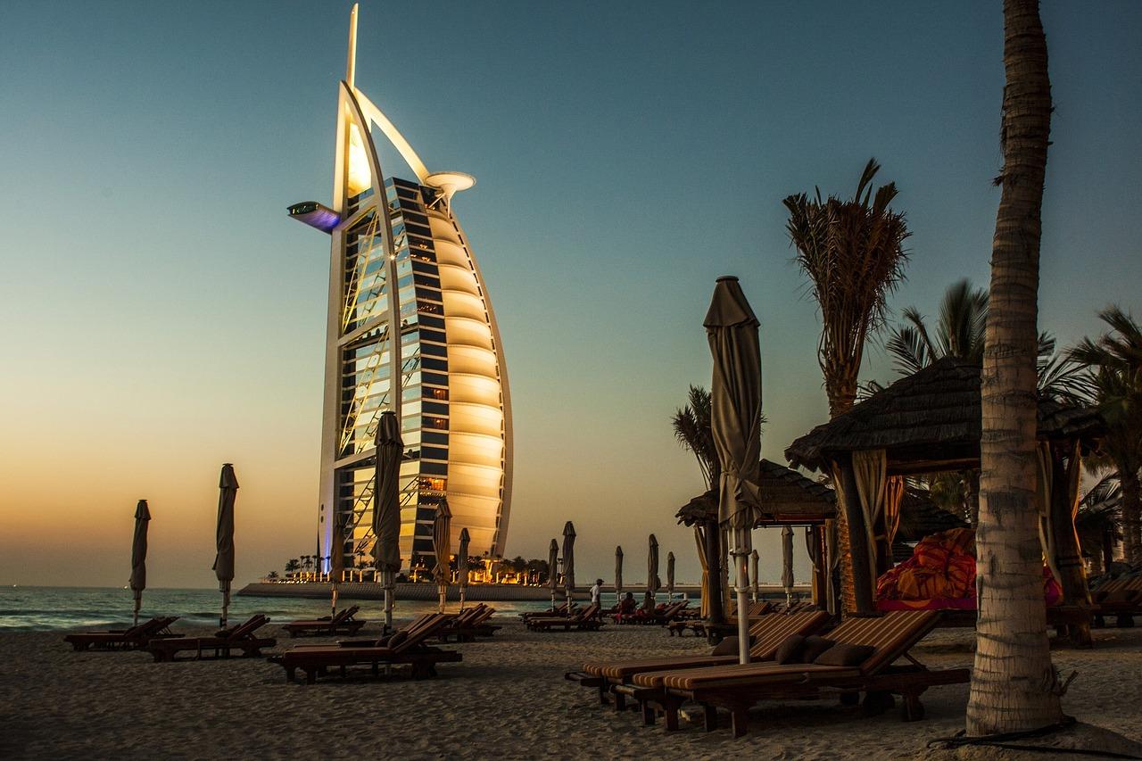 Burj Al Arab - Hotel de 7 estrellas más caro de Dubai