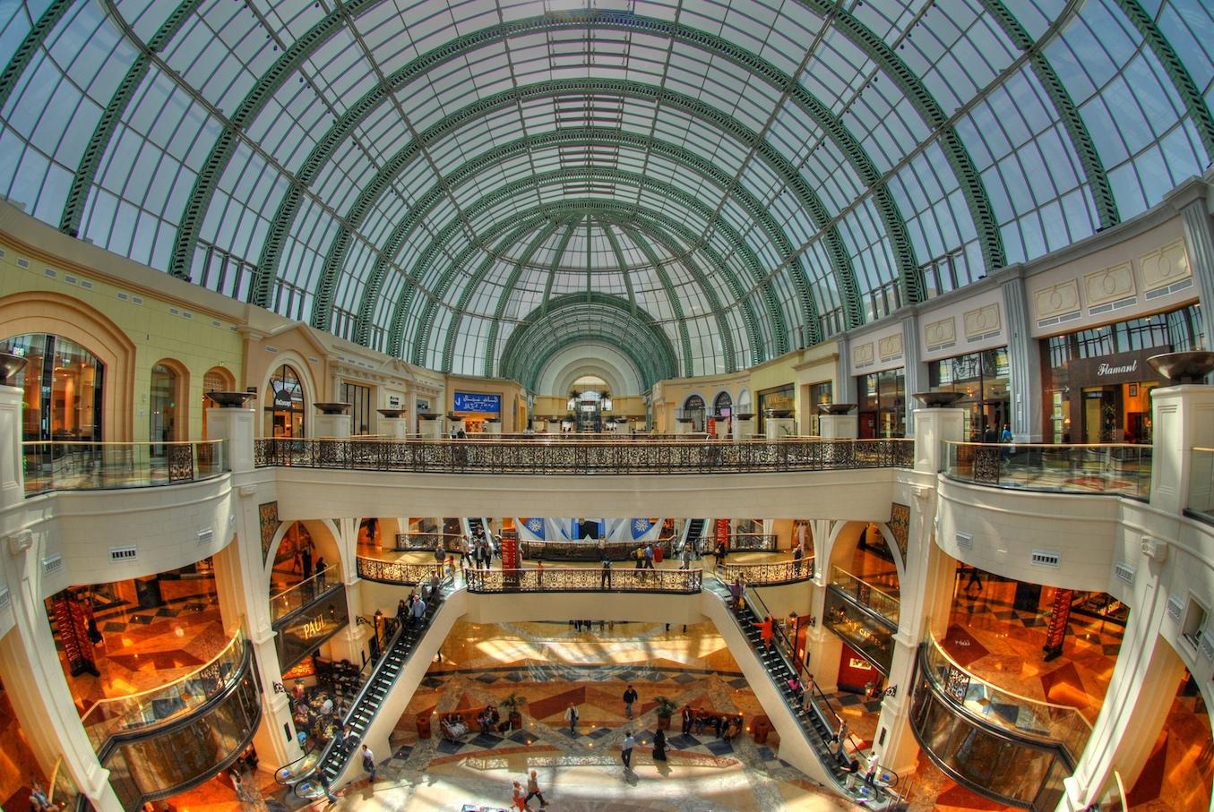 Mall of Emirates - Centro comercial con pista de ski en Dubai