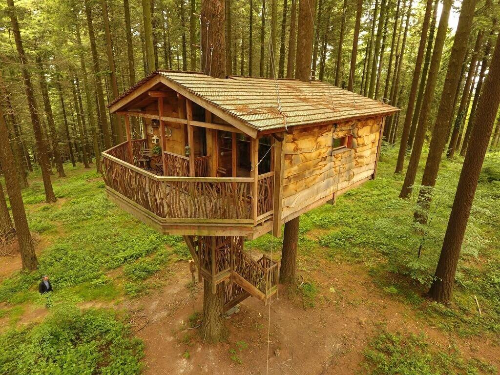 Ranking Mejores 7 Cabañas En Los árboles De España Kike Arnaiz
