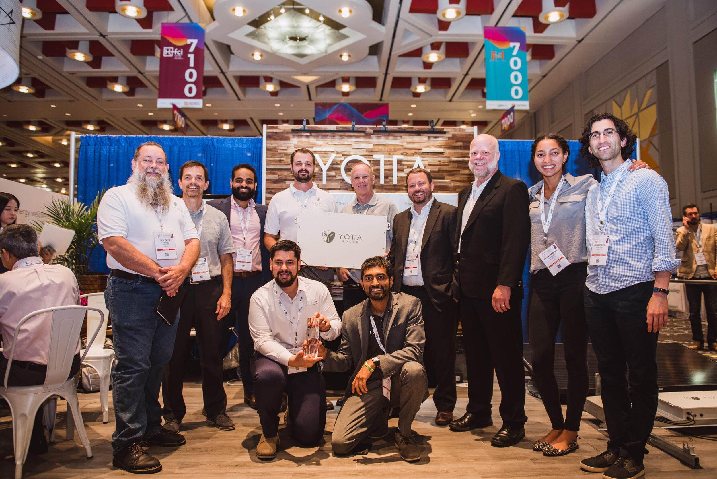 Yotta Named Solar Power International 2019 Startup of the Year