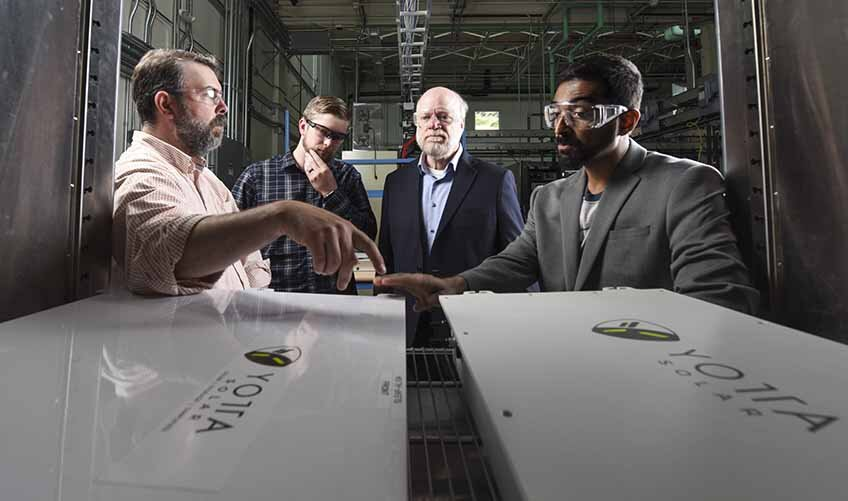 Unique New Prototype Brings NREL Collaborators Together