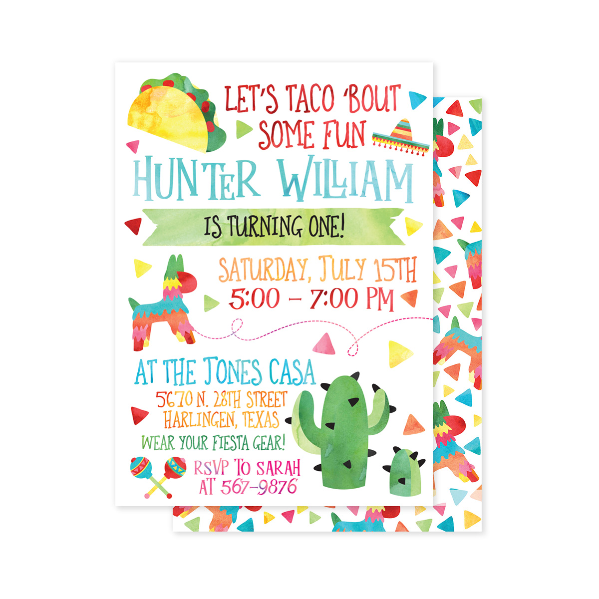 Let's Taco 'Bout a Party Preset Party