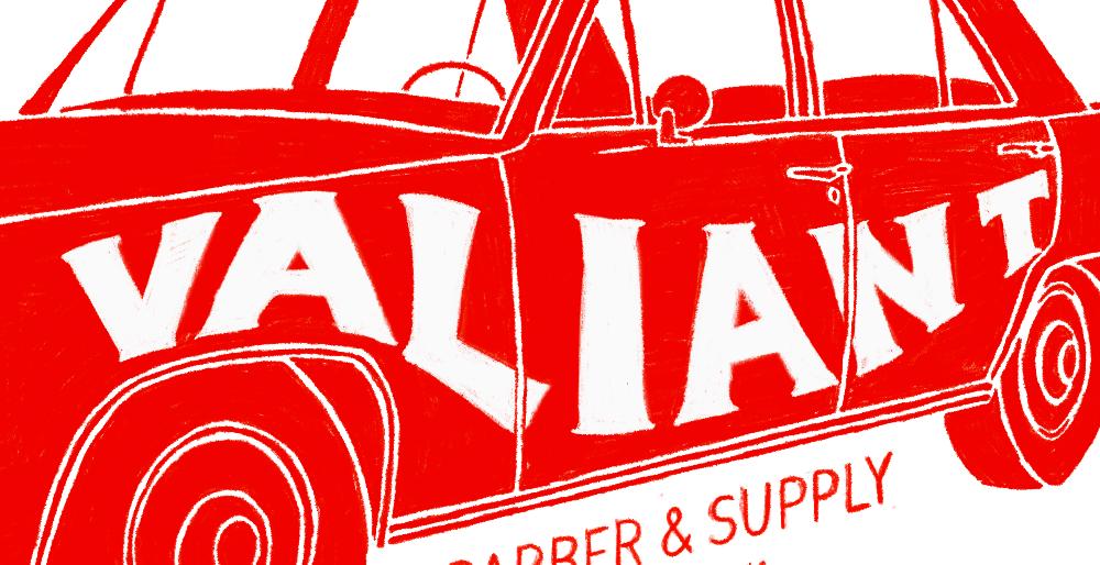 Valiant Barber & Supply // Identity & Illustration