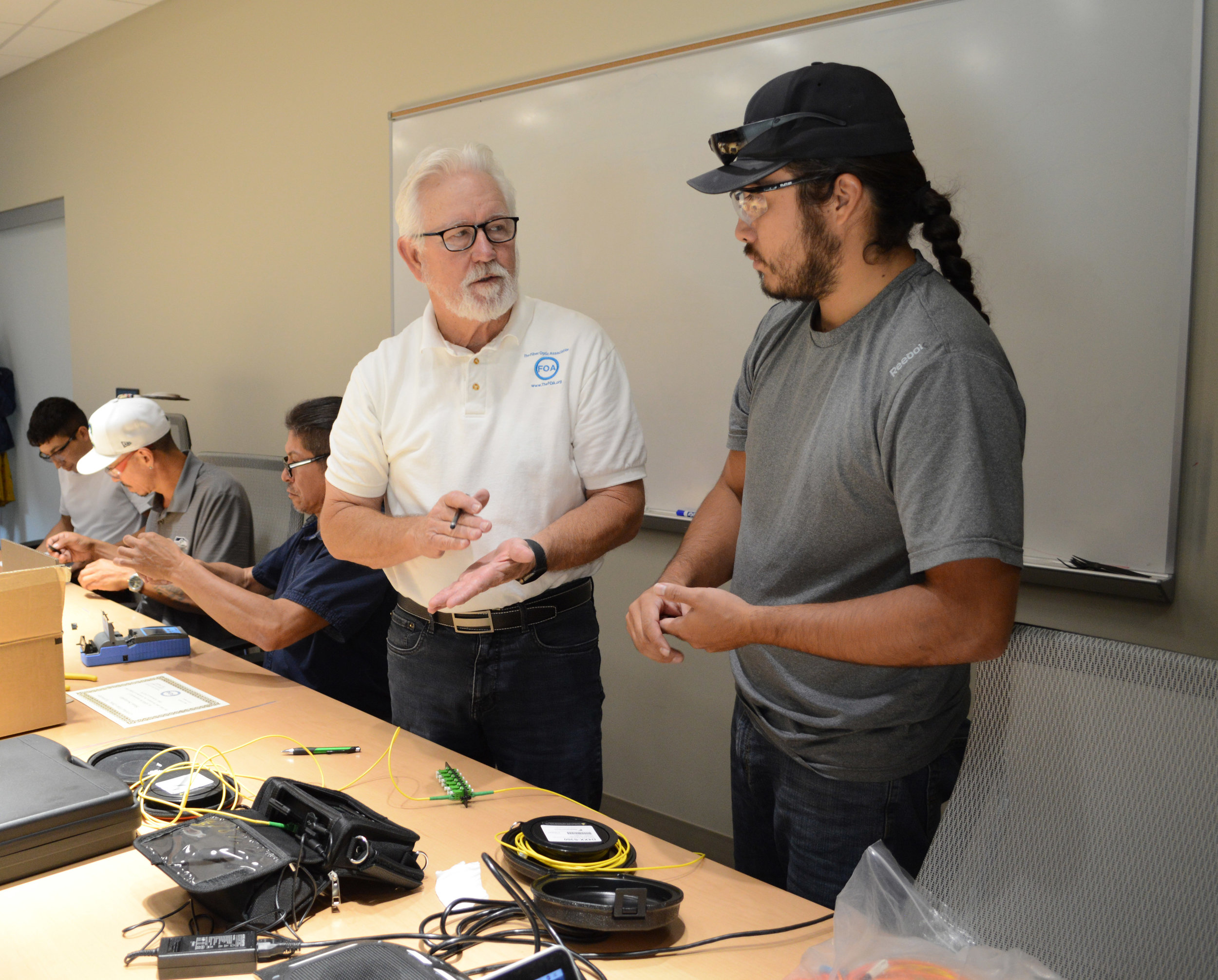FOA Certified Fiber Optic Technician (CFOT)3-Day Course - The Prerequisite for all other International Network Consultants CoursesFOA Certified Fiber Optic Specialist, Technician (CFOT)- 3 Day CourseCFOT - Certified Fiber Optic Technician is the primary FOA certification for all fiber optic technicians. CFOTs have a broad knowledge, skills and abilities (KSAs) in fiber optics that can be applied to almost any job – design, installation, operation – and for almost an application using fiber optic communications.