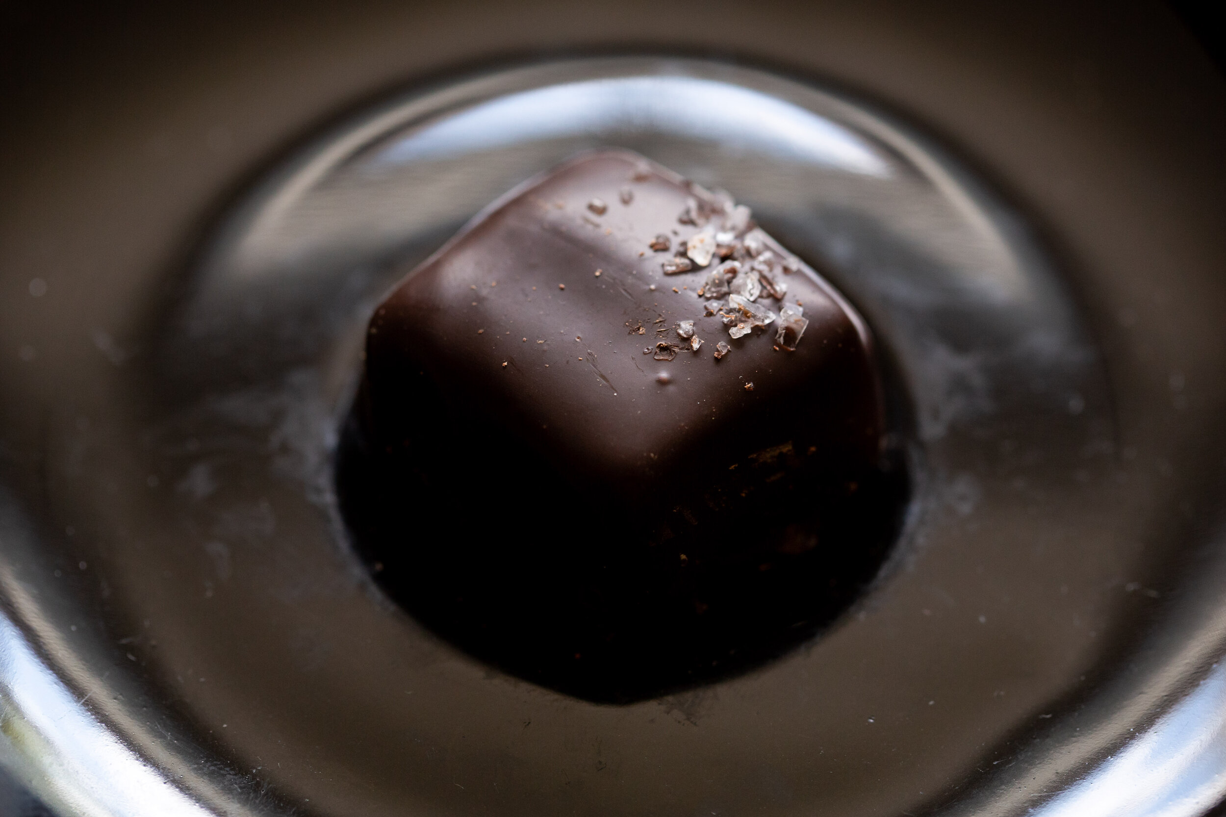 dark sea salt caramel
