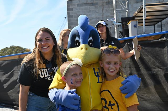 We had the most amazing time at #FTKickoff this weekend celebrating our B+ heroes. Thank you so much to @udbluehens and @udanceathletics for helping us with this event! #FTK