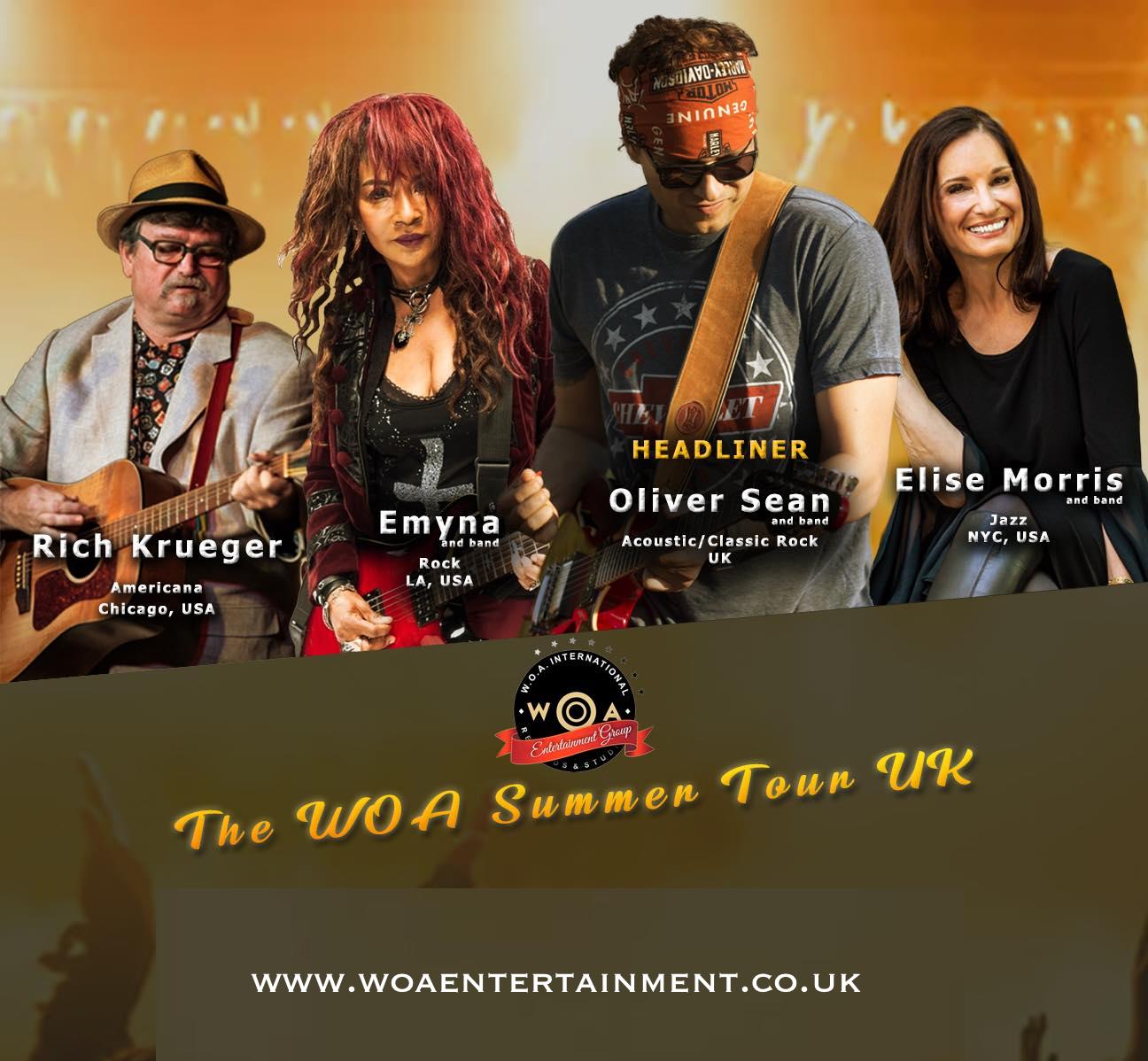 WOA Summer Tour UK 2019