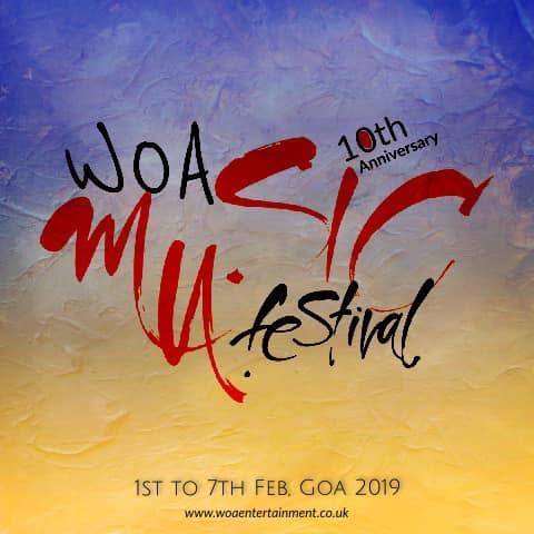 10th WOA Music Festival Goa 2019