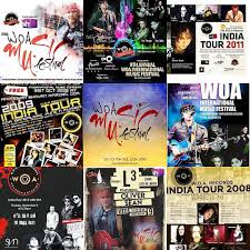 WOA International Festival Artists - Some of our WOA Festival ARtists who have made a Big Spash into the India & Dubai Music Scene, Featured on Vh1, 9Xo, AIR FM Radio: Emyna the Rock Queen (USA), Eric Dulle (France), Jesus Aaron (USA), Nagmah (Costa Rica), Overhate (venezuela),