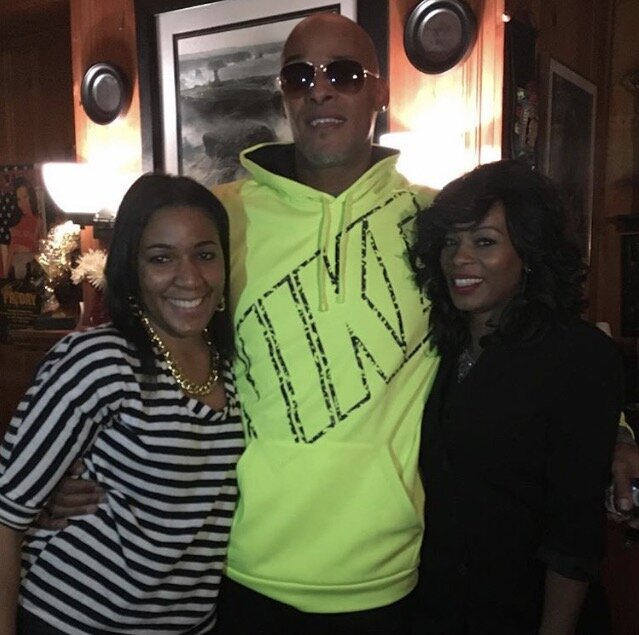 (From left to right): Naomi K. Bonman, David Ruffin Jr., and Ms. Toi