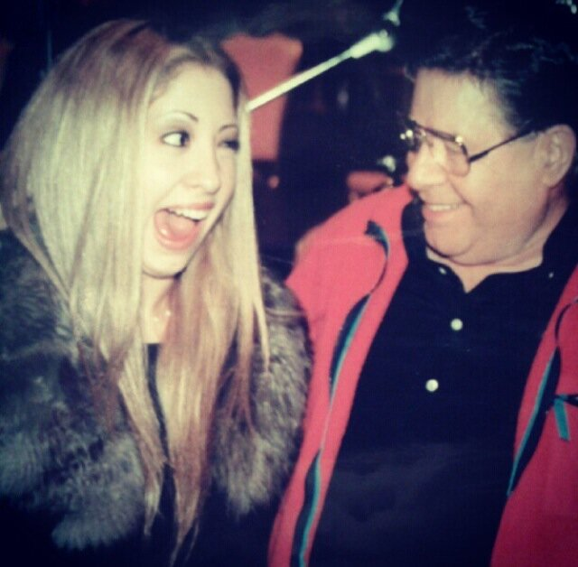 Kimi Lewis and Jerry Lewis