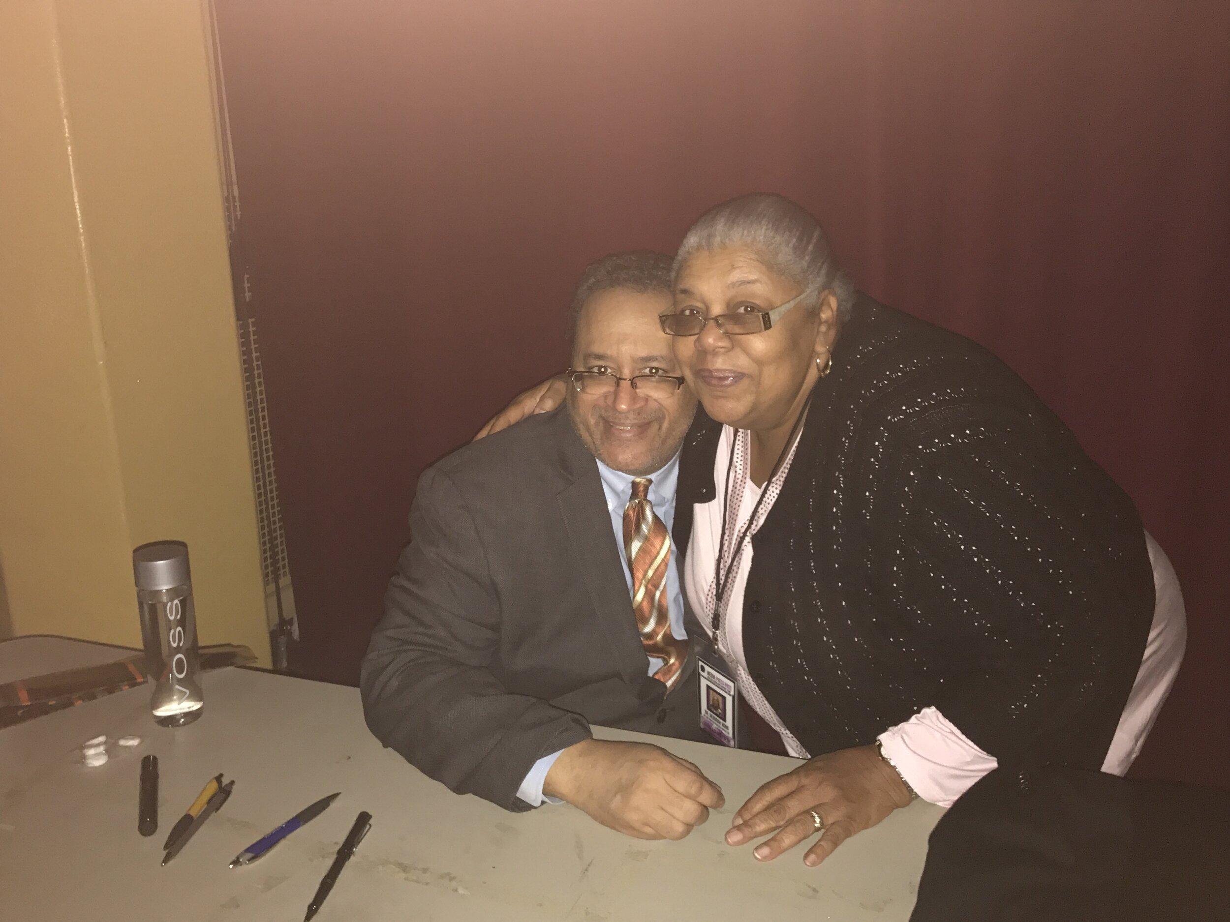 Dr. Deborah Winn and author Michael Eric Dyson