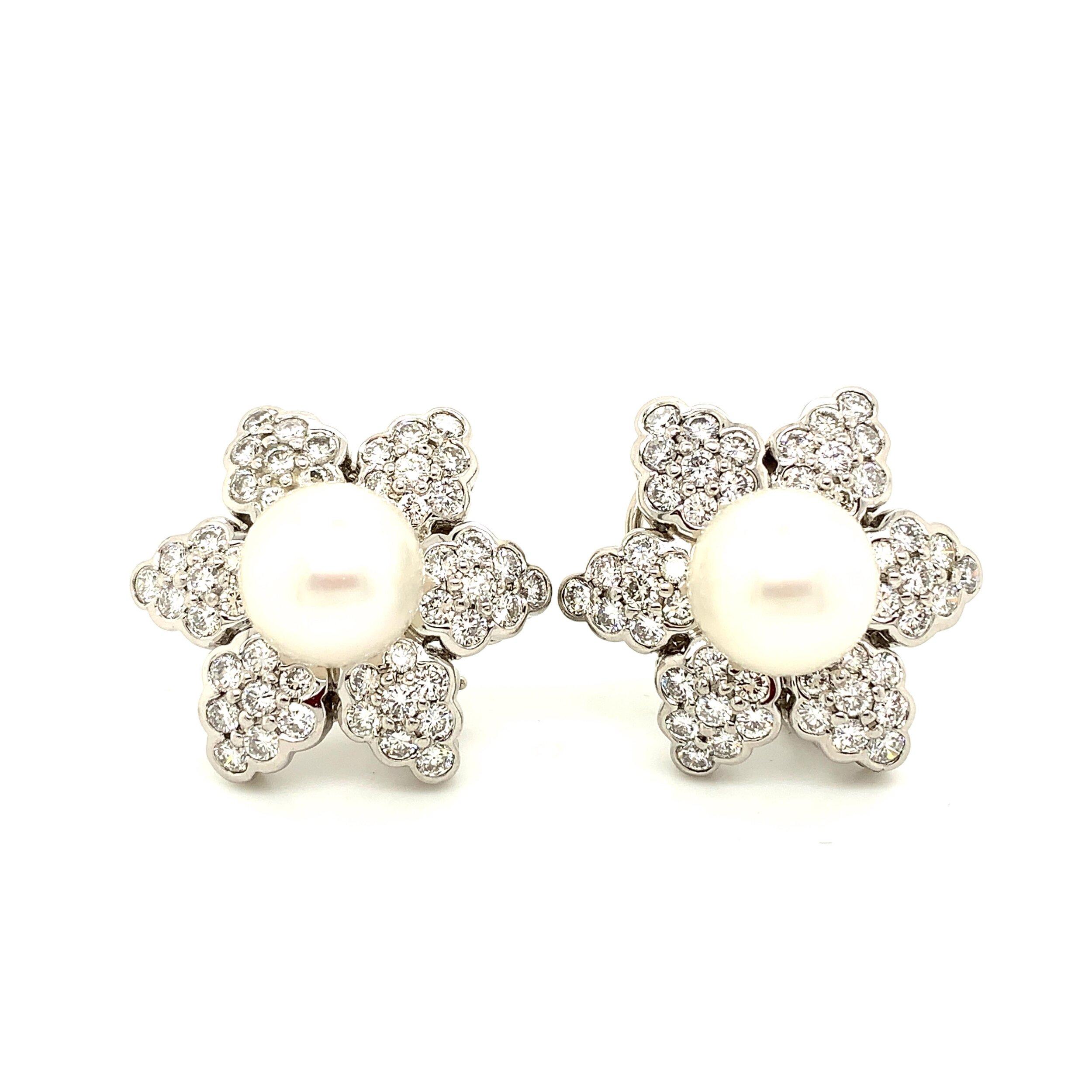 Platinum Earrings   Est. US$ 4,500-5,100