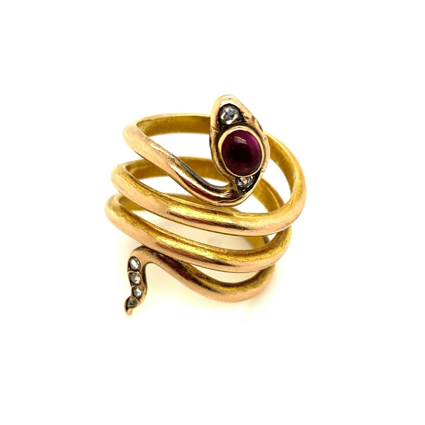 Faberge Erick Kollin Snake Ring   Est. US$ 6,500-7,500