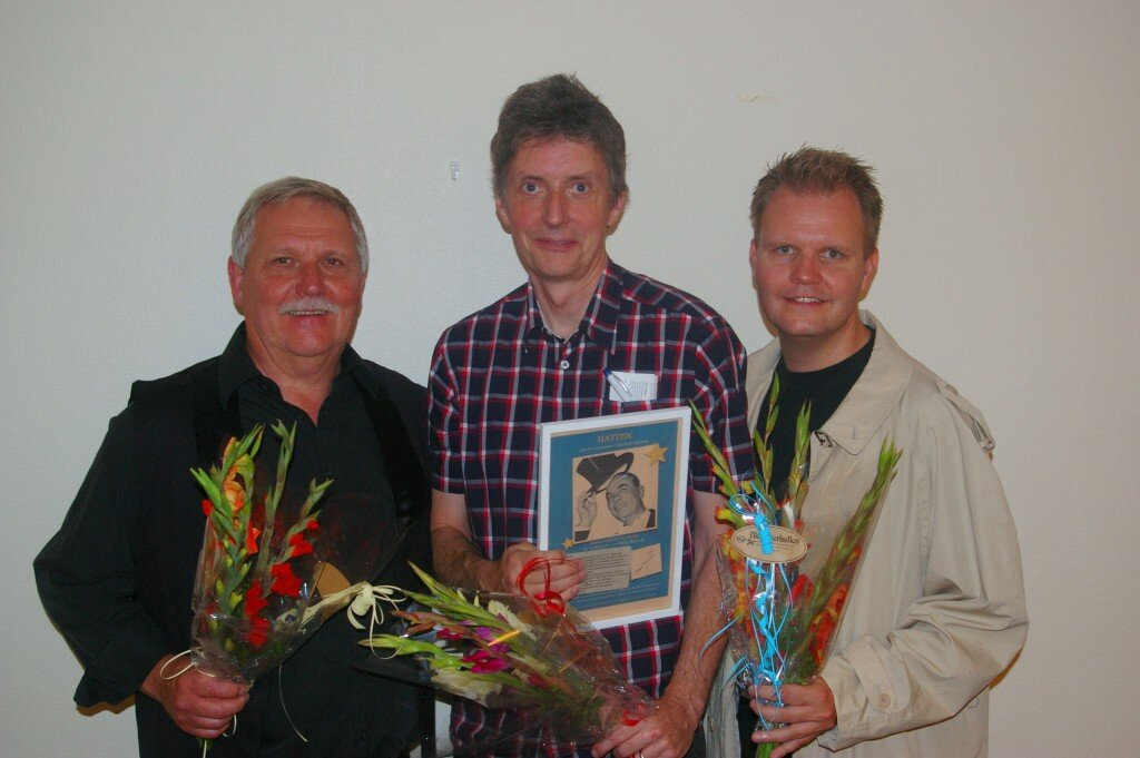 Vinnare av Karl Gerhard-hatten