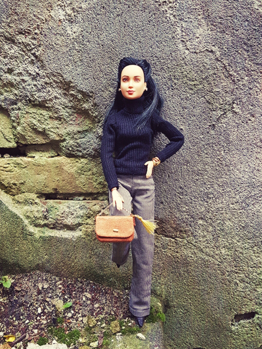 OOAK Made to Move Black Hair Barbie, Eve, Plastically Perfect - OOTD Autumn Polish 001.jpg