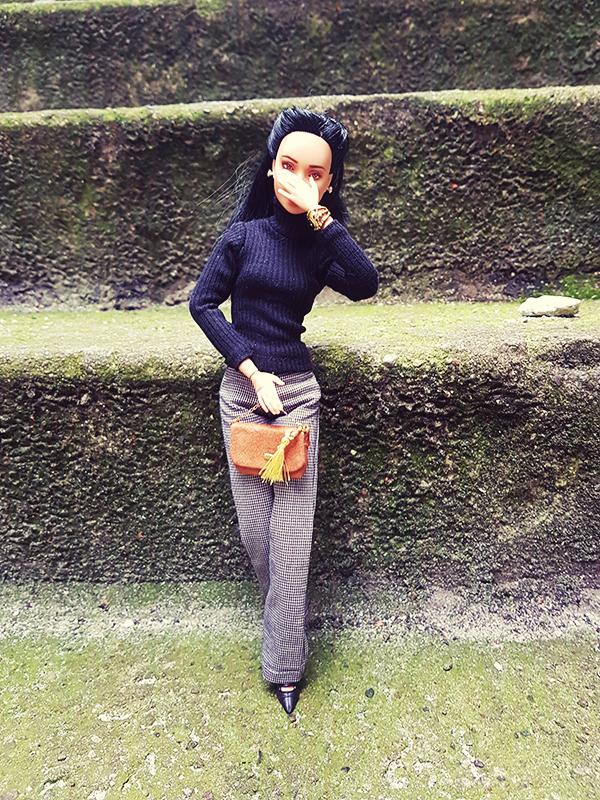 OOAK Made to Move Black Hair Barbie, Eve, Plastically Perfect - OOTD Autumn Polish 005.jpg