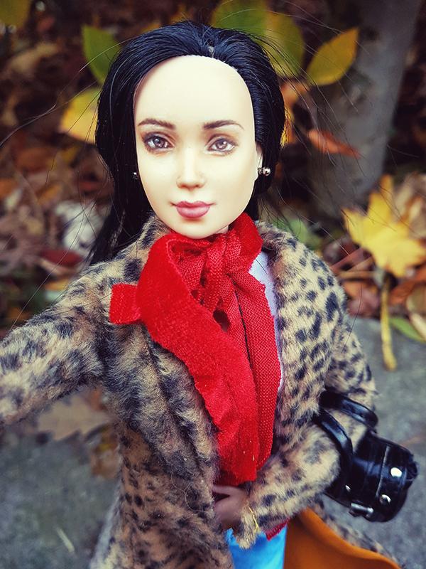 Barbie Earrings for OOAK Made to Move Black Hair Barbie, Eve, Plastically Perfect 02.jpg