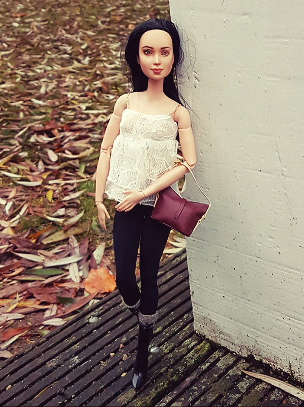 OOAK Made to Move Black Hair Barbie, Eve, Plastically Perfect - OOTD Layers & Lace 006.jpg