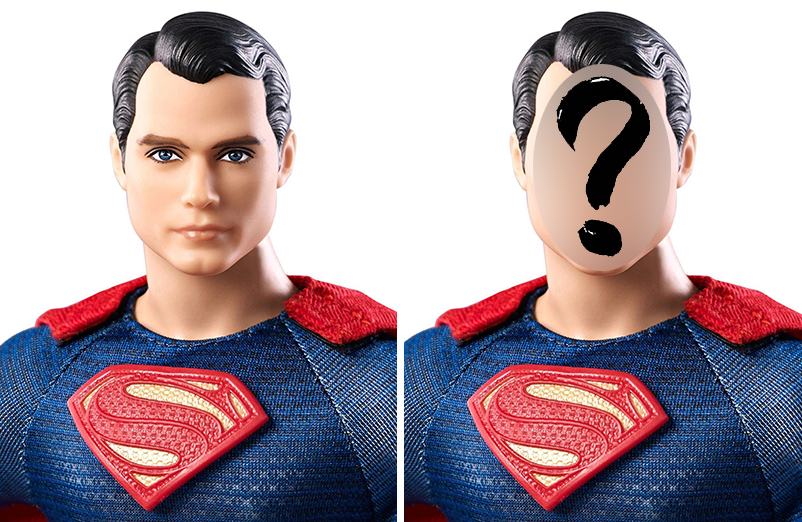 Before & Mystery After - Cole To Be - Superman v Batman Figure Repaint - Plastically Perfect 01.jpg