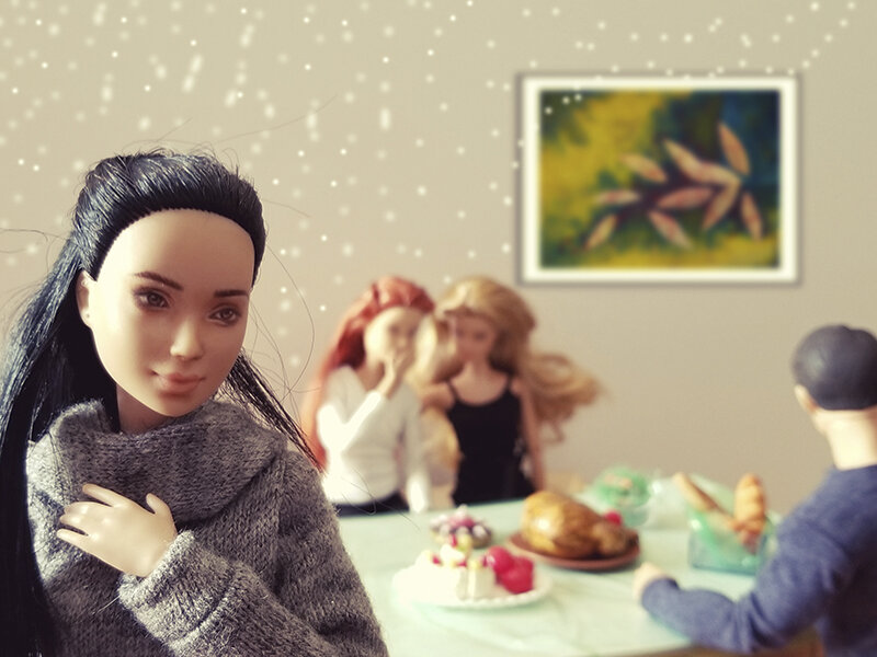 Mish Mash meal - Plastically Perfect - Barbie Playscale Diorama 02.jpg