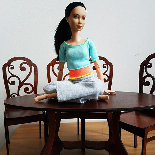 Dining Set, Not Quite Playscale - Plastically Perfect - Barbie Diorama Gear 02.jpg