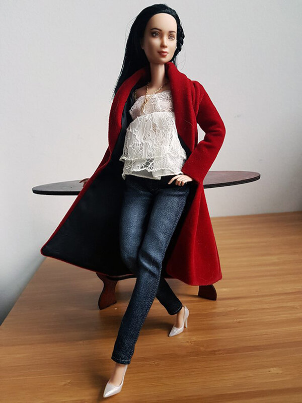 OOAK Made to Move Black Hair Barbie, Eve, Plastically Perfect - OOTD holiday cheer, post holiday 05.jpg