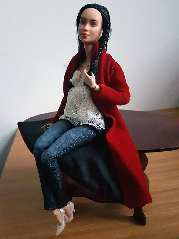 OOAK Made to Move Black Hair Barbie, Eve, Plastically Perfect - OOTD holiday cheer, post holiday 04.jpg