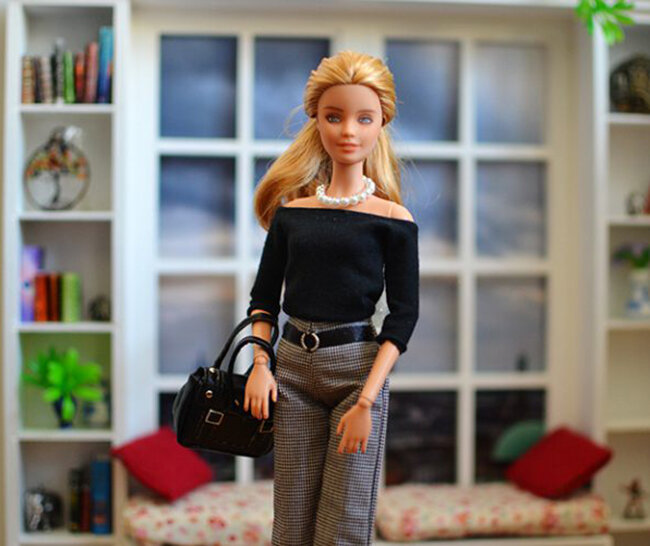 OOAK Fashionista Barbie, Willow, Plastically Perfect - OOTD capsule wardrobe outfit 02.jpg