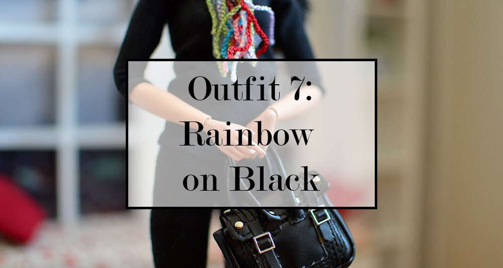 OOAK black hair made to move Barbie, Eve, Plastically Perfect - OOTD capsule wardrobe outfit 7 media pic.jpg