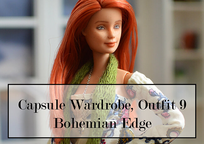 OOAK red hair made to move Barbie, Anne, Plastically Perfect - OOTD capsule wardrobe outfit 9 media pic.jpg
